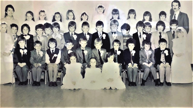 Holy Family J.N.S. First Communion Class of 1983